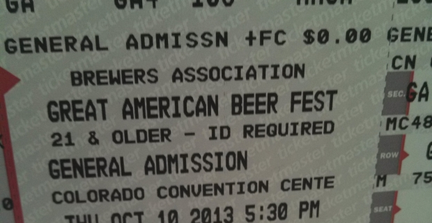 GABF, here we come!
