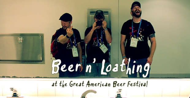 Beer n' Loathing at the Great American Beer Festival